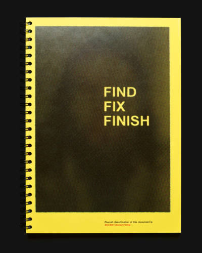 Find Fix Finish - edition - © Clément Lambelet